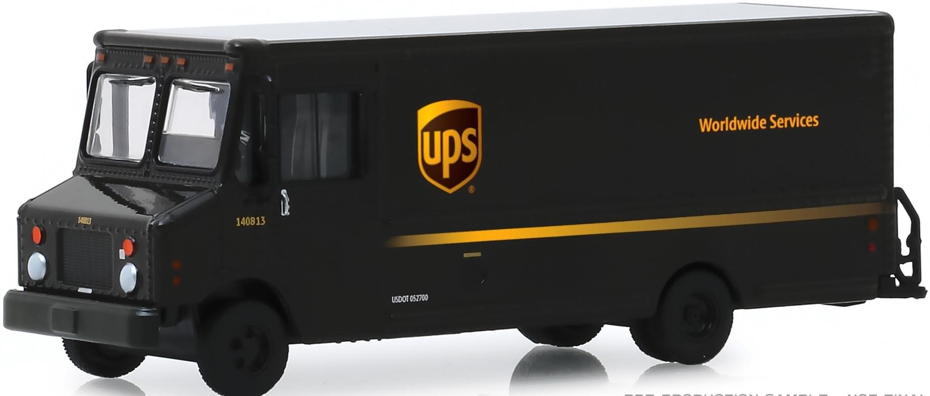 "Package Car ""UPS - United Parcel Service"""
